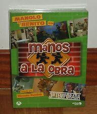 MANOS A LA OBRA - 3º TEMPORADA COMPLETA - 4 DVD - NUEVO - PRECINTADO - SERIES