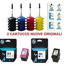 Cartuccia HP 304 nero e colore originale + kit di ricarica per ENVY 5010