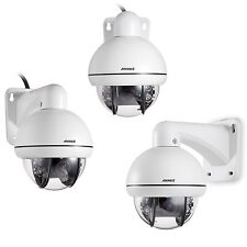 ANNKE HD 1280*720P Mini 3X Zoom PTZ Outdoor IR Night Vision Security Camera