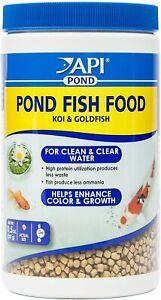 API Pond Fish Food Koi & Goldfish Helps Enhance Color and Growth 11.5-Ounce