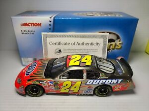 2005 Jeff Gordon #24 DuPont Brushed Metal Chevy 1:24 NASCAR Action Die-Cast MIB
