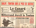 CANARD ENCHAINÉ Birthday Newspaper JOURNAL NAISSANCE 5 SEPTEMBRE SEPTEMBER 1990