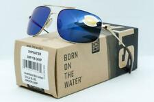 COSTA DEL MAR SHIPMASTER SUNGLASSES Gold frame / Blue Mirror 580P Polarized lens