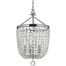 Crystorama Archer 5 Lt Crystal Polished Chrome Chandelier 14x24' - 785-CH-CL-S
