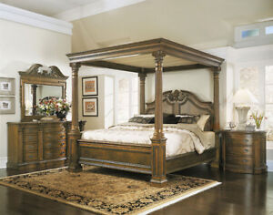 Double, King - Super-king size Four Poster Bed. Absolutely Stunning  Bed