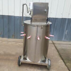WOO 240V Calf Feeding Machine Farm Acidified Milk Feeder 304 Stainless Steel New
