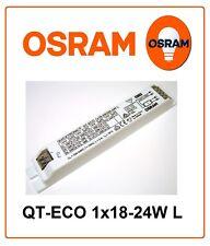 Electronic ballast QT-ECO 1x18-24/220-240L OSRAM CFL tube T5 1x 15W 18W 22W 24W