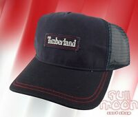 New TIMBERLAND Slouch Relaxed Trucker Mens Snapback Cap Hat