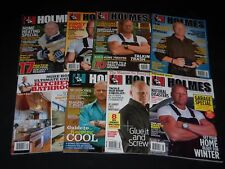 2010-2011 MIKE HOLMES MAGAZINE LOT OF 8 - PREMIER ISSUE INCLUDED - O 9921
