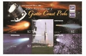 Grenada - 2006 - Space Giotto Comet Probe - Sheet Of 6 - MNH