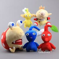 New Pikmin Captain Olimar Bulborb CHAPPIE Plush Figure Flower Leaf Stuffed Toys