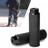 2* MTB BMX Bike Alloy Foot Stunt Pegs Fußstütze Hebel Zylindergriff 3/8 '' Achse