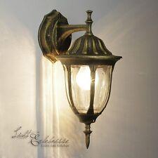 Elegante Lámpara de pared exterior en Antiguo aplique entrada la casa Linterna