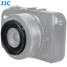 JJC Lens Hood For CANON EOS M EF-M 22mm f/2 STM Lens As EW-43 Fits Filter Or Cap
