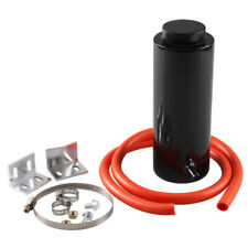 800ML Car Aluminum alloy Water Tank Cooling Pot Auxiliary Kits Oil Pipe Silver