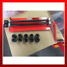 """RETURNS - WNS Bead Roller Former Swager Rotary Swaging Machine 457mm 18"""" 1.2mm"""