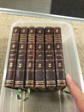 1902 Little Masterpieces SET OF 6 BOOKS - THE PICKERING EDITION NICE SET LOOK