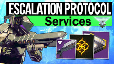 [XBOX] Destiny 2 Escalation Protocol 6 Runs Weapon Farm  (International)