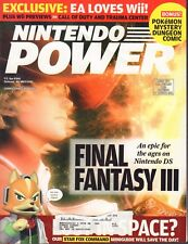 Nintendo Power Magazine Final Fantasy III October 2006 020418nonr