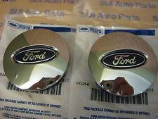 Ford Focus Taurus Escape Edge Fusion Flex Explorer Chrome Center Caps  NEW OEM