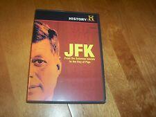 JFK John F. Kennedy WWII to Bay of Pigs PT-109 Nixon Debates HISTORY CHANNEL DVD