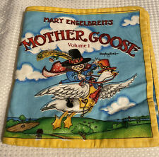 Soft Book Fabric Panel Mother Goose Vol 1 Nursery Rhymes Mary Engelbreit ME Ink