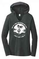 Not All Those Who Wander Are Lost Ladies Hoodie T-Shirt Hippie Gypsy Graphic