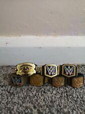 WWE Mattel Elite Figure Belts Bundle