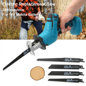 Reciprocating Saw 4 Blades Wood Metal Cutting Recip Hand Held Saw Outside Saber
