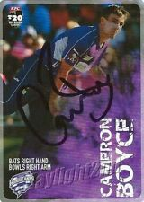 Hobart Hurricanes Original 2015 Season Cricket Trading Cards