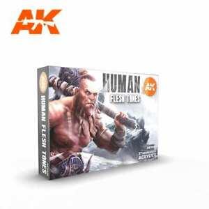 AK Interactive GEN 3 - HUMAN FLESH TONES