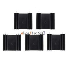 5PCS Triode IC heat sink For TO-220 Aluminum 34*12*30MM Cooling Fin