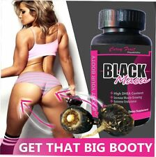 Black Maca Root Tablets For Big Booty by CurvyFruit /31 days supply (USA Seller)