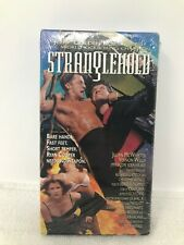 Stranglehold VHS 1994 Rare Cult Kickboxing Jerry Trimble Martial Arts