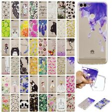 Ultra Thin Rubber Silicone Phone Back Case Cover For Huawei P20 Lite Pro P Smart