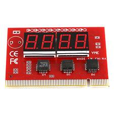 PC Desktopb LED 4 Digit Diagnostic Tester POST Card PCI Analyzer Motherboard