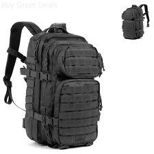 Red Rock Tactical Backpacks Outdoor Gear Assault Pack (Medium, Black)