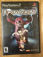 Herdy Gerdy PlayStation 2 PS2 Black Label Complete Manual Case Game Tested