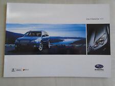 Subaru Outback brochure 2007 New Zealand market