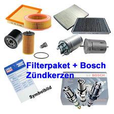 Pacchetto Ispezione #100 FILTRI + CANDELE BOSCH VW BORA 1j2 1.4 16v 75ps 0603-470