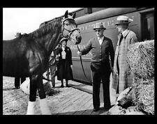 Seabiscuit PHOTO Horse Race Racing Legend Champion, Trainer, Owner