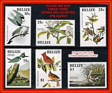 BELIZE 1985 AUDUBON BIRDS MNH (B-AL)