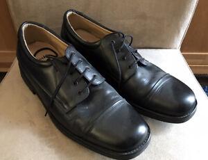 Clarks Black Lace Up Shoe Size 10