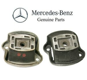 For Mercedes R107 380SL Pair Set of Left & Right Engine Motor Mounts Genuine