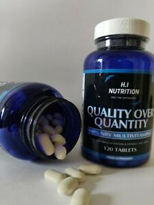 4 months of Quality over quantity - Multivitamin & Mineral health immune system