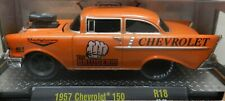 CHEVY STREET OUTLAWS 1957 150 ORANGE DRAG BRUISER 57 BEL AIR 18-09 M2