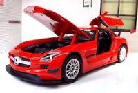 G 1:24 Scale 2011 Mercedes SLS Class AMG GT3 73356 Detailed Diecast Model Car