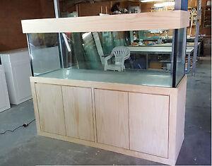 Aquarium 6ft x 2ft x 2ft -Fish Tank Cabinet & Flat Hood *Modern Style* Brand New