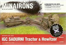 Minairons Miniatures 1/72 IGC Sadurni Tracteur & Schneider obusier 155 mm
