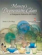 MAUZY'S DEPRESSION GLASS - A PHOTOGRAPHIC REFERENCE BOOK BY JIM & BARBARA MAUZY